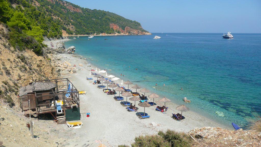 Velanio beach