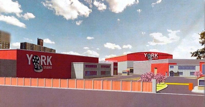 Visual of the future York Studios in The Bronx, NY