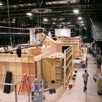 Interior view of the existing York Studios stage in Maspeth, NY