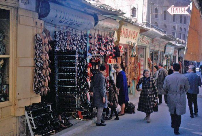 The market of Monastiraki