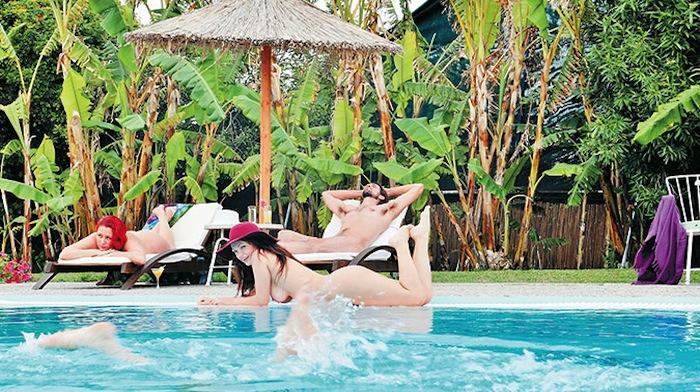 Nudist Paradise in Rhodes
