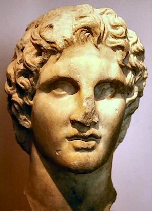 Figure 7: The youthful Alexander from the Athenian Acropolis