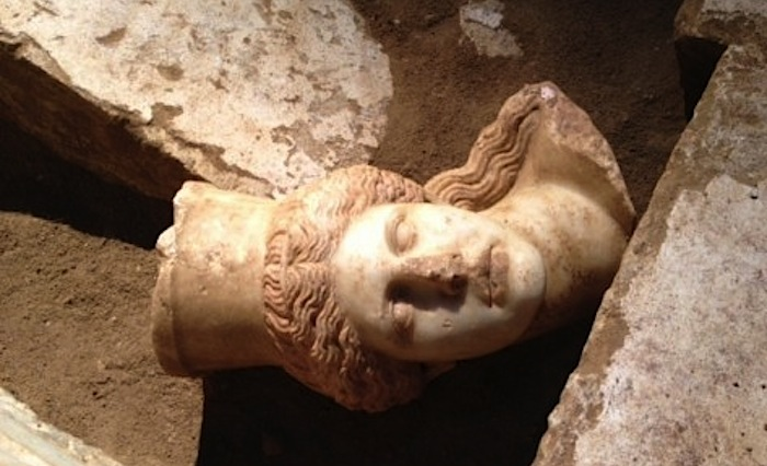 Missing Head of Amphipolis Discovered
