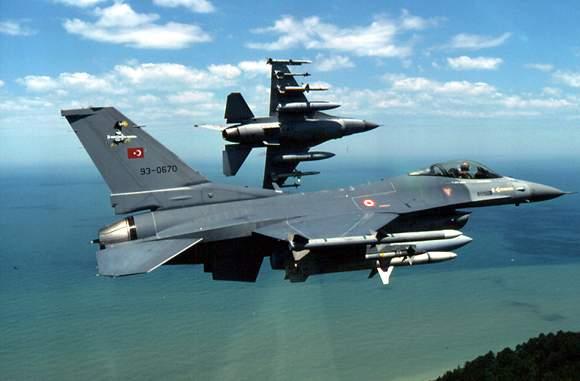 F-16s_Turkish