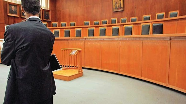 Greek Lawyers on a Three Day Strike