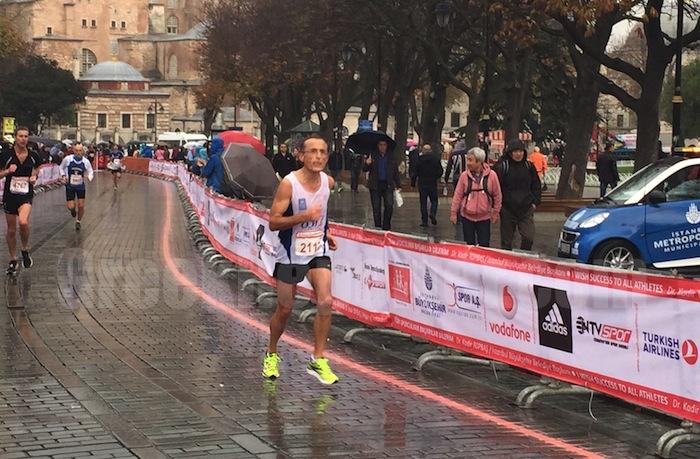 Greek Runner Odysseas Chatzidimitriou