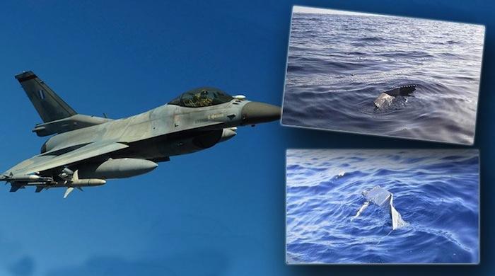 Greek F-16 Crashes South of Crete
