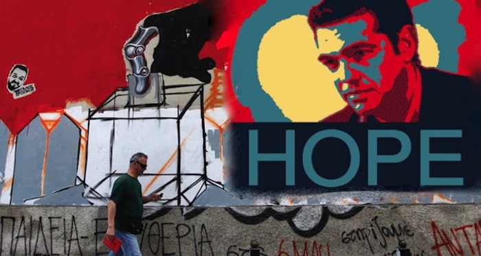 Greek Prime Minister Alexis Tsipras Says Hope is back