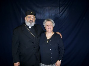 The late Rev. Anastasioa Diakovasilis and his Presvitera Maria