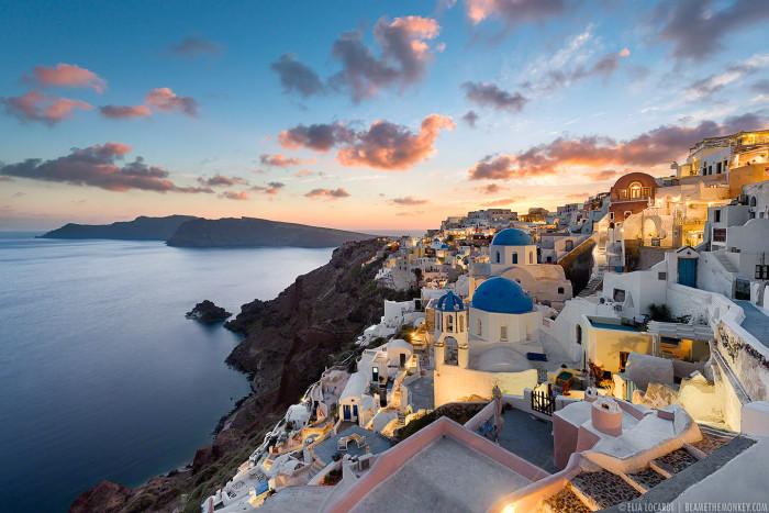 Sunset Dreams    Oia Santorini