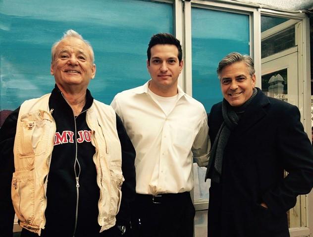 Clooney Murray Kyclades Restaurant Queens