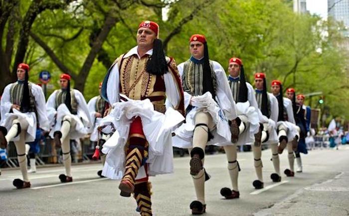 Greek Diaspora in NYC Greece Parade