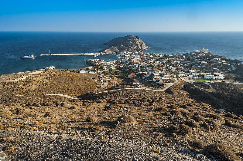 Ελληνικό νησί Ψαρά