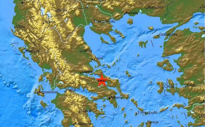 5.2 Magnitude erthquake strikes Greece