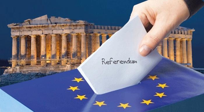 How a Greek Referendum is Held