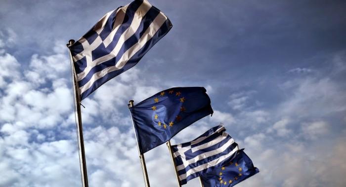 Greek & European Flags