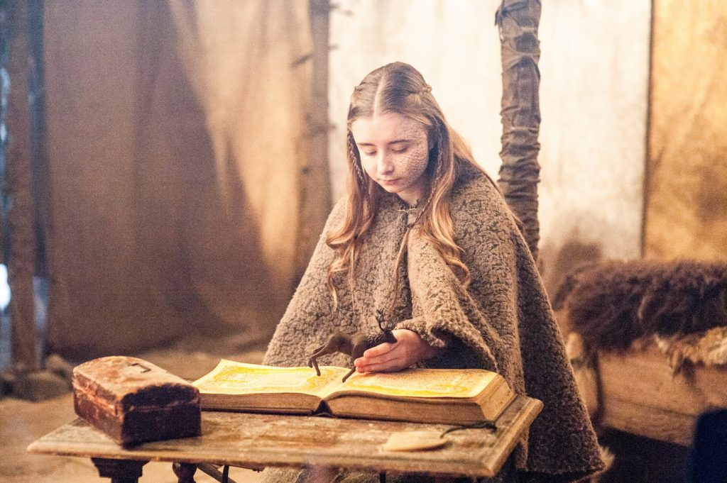 Shireen Baratheon. HBO. Game of Thrones airs on Foxtel's showcase channel Click to enlarge