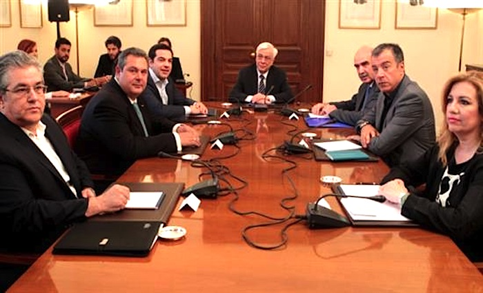 Greek Political Parties Agree