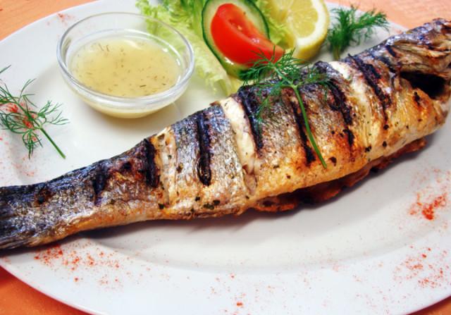Greek Sea Bass (Lavraki)
