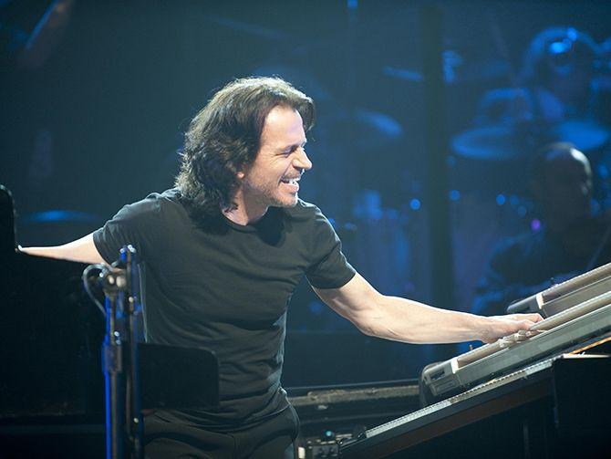 Greek composer Yanni