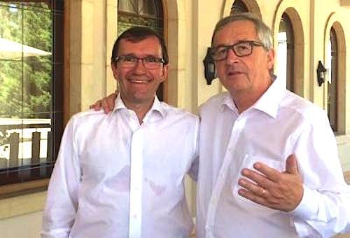 Juncker and Eide