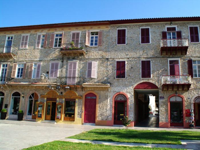 The Three Admiral Square, Nafplio