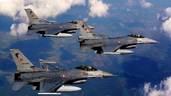 Turkish Fighter Jets Test Greece's Territorial Claims