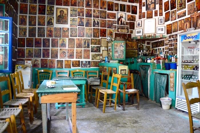 cafe, Crete