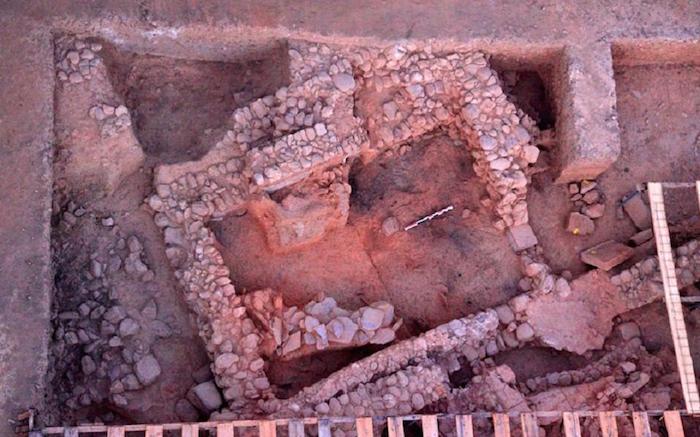 Excavations, Mycenean Palace