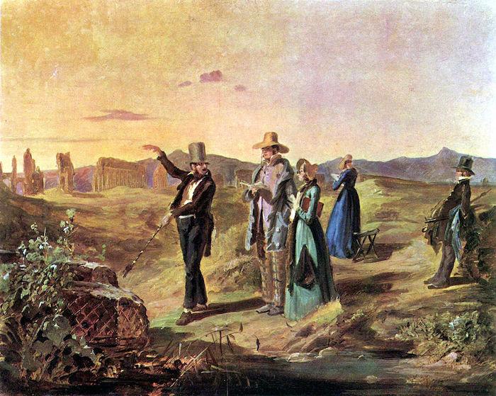 Englishman in the Campagna by Carl Spitzweg (c. 1845)