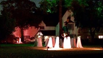 Celebrating Halloween in Houston, Texas, USA