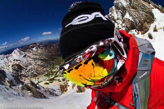 Snowboard in Greece - Constantine Papanicolaou
