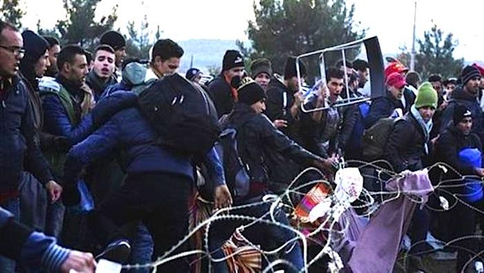 Fights Between Migrants