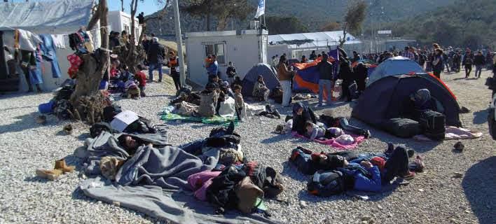 refugees lesvos