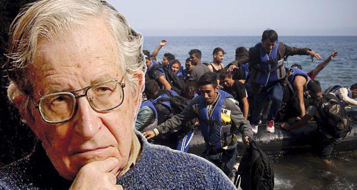 Chomsky-on-Refugee-Crisis