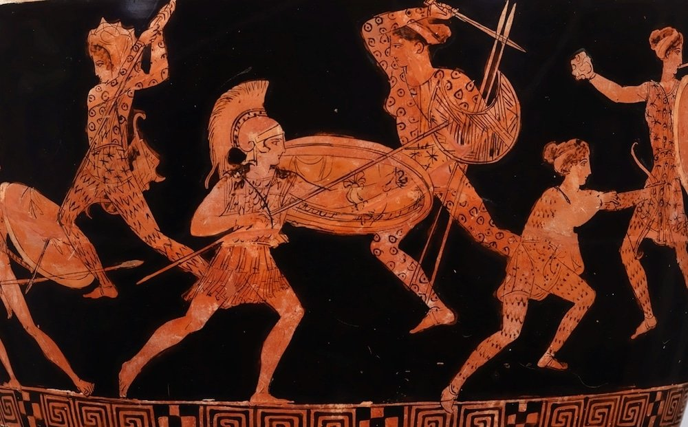 ancient greek amazons