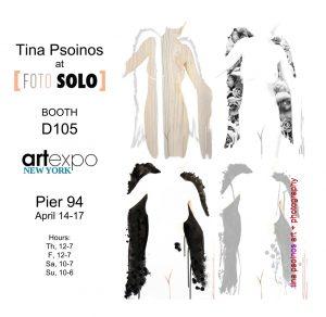 New York Art Expo Tina Psoinos Invitation