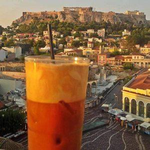 coffee athens acropolis