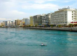 Euripus strait halkida-evia-greece