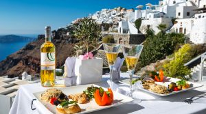 Santorini cuisine