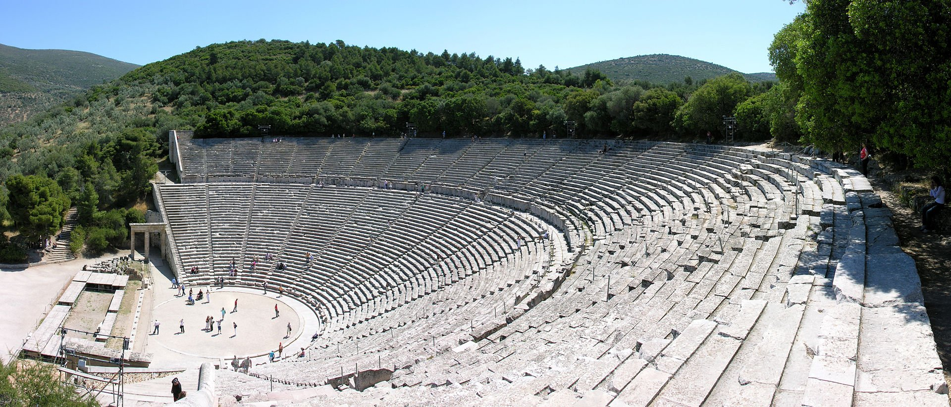 Scientists Solve Mystery of High Quality Sound at Theater of Epidaurus