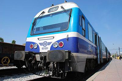 greek train