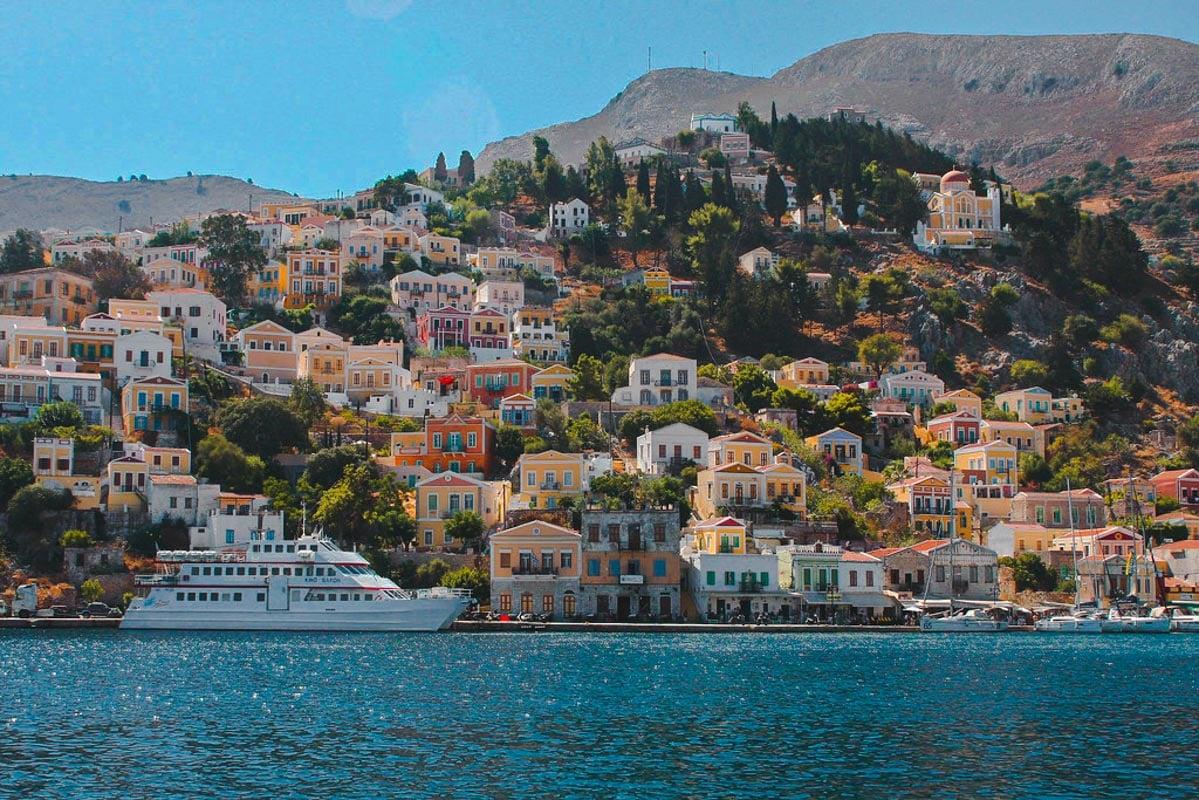 The harbour, Symi, Greece