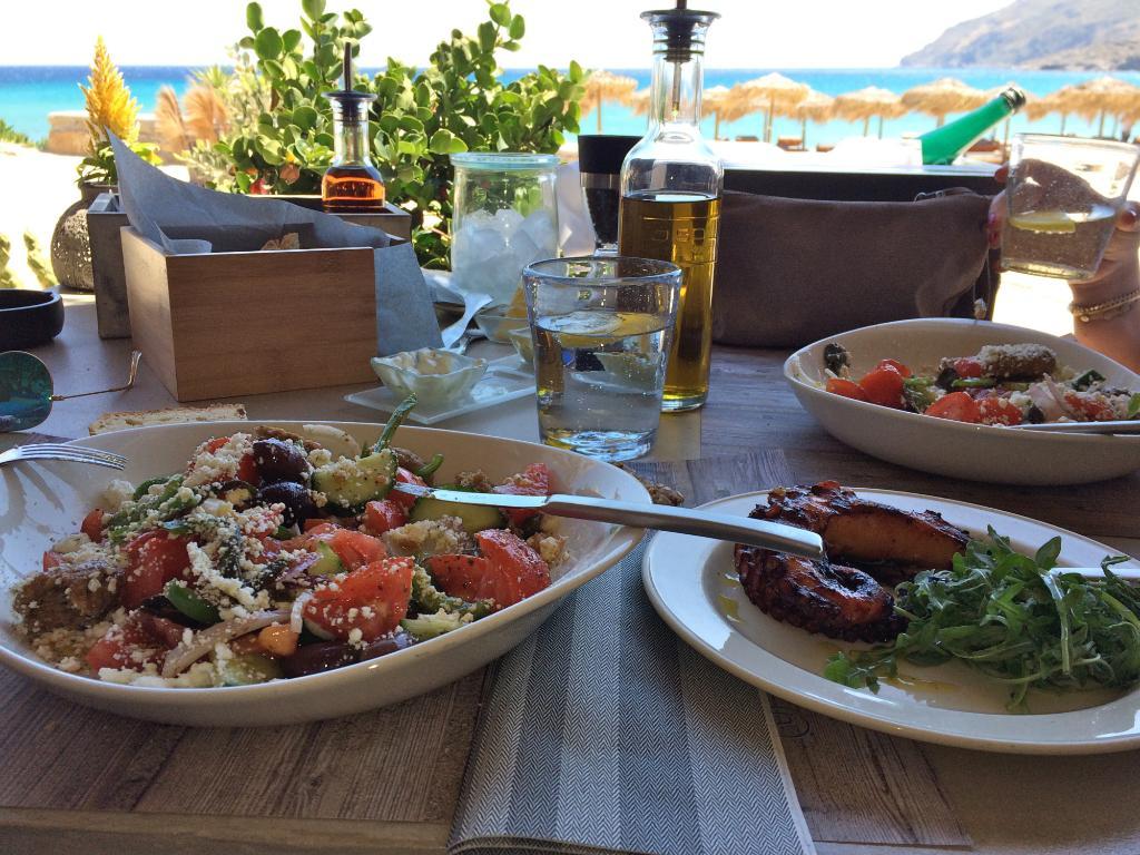 beach restaurants Mykonos