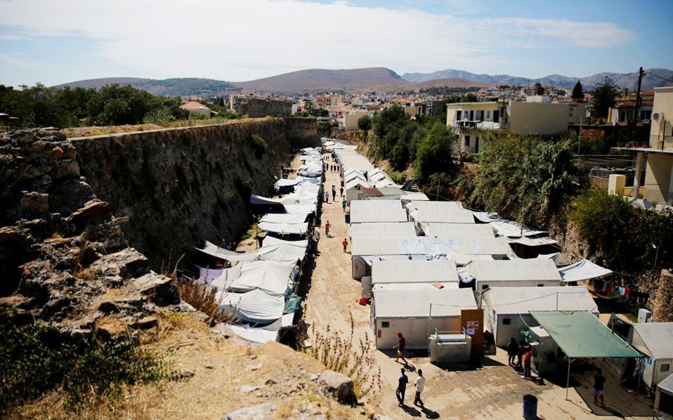 chios migrant camp