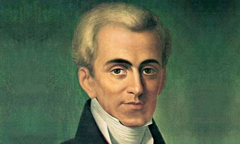 kapodistrias first leader greece