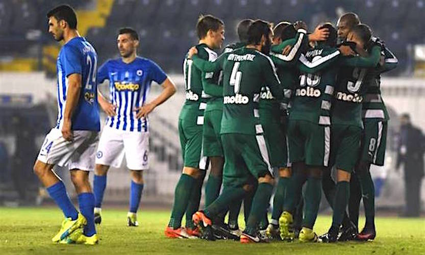 12/11/2016: Latest Greek Super League Results with Video