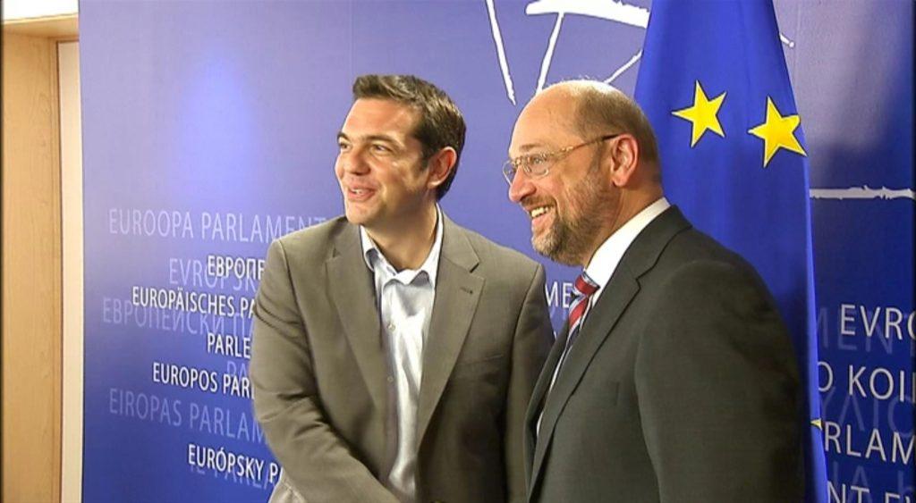 schlutz tsipras