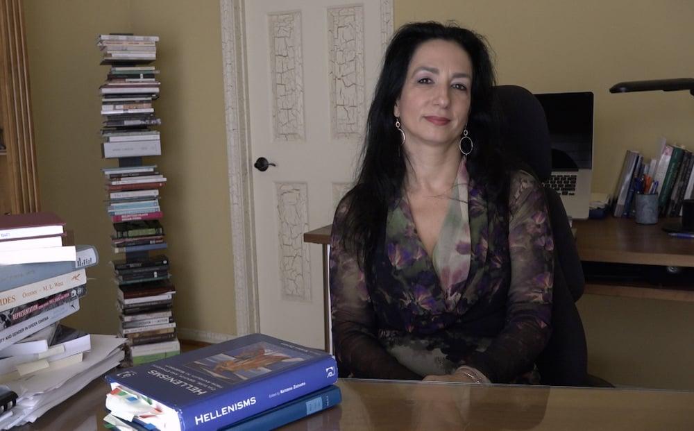 Professor of Classics Katerina Zacharia interview semantics behind greece