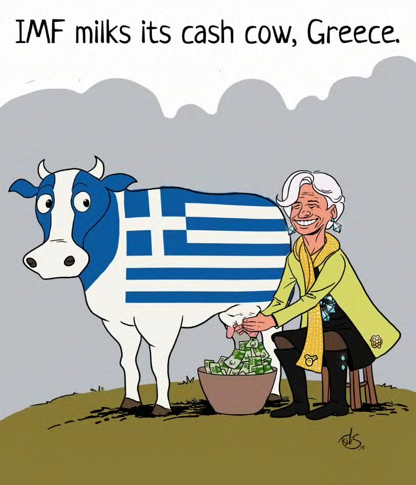 How the Greek Crisis is Profitable for the IMF